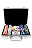 zestaw pokera Obrazy Stock