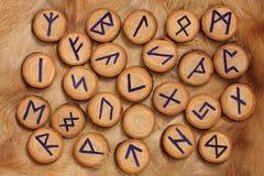 zestaw rune Fotografia Royalty Free