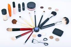 zestawu makeup Obrazy Royalty Free
