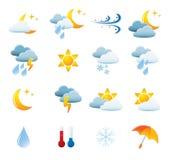 zestawy ikoną pogoda