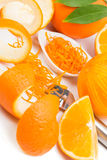 Zested orange Royalty Free Stock Image