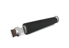 Zester with black handle on white background Stock Images