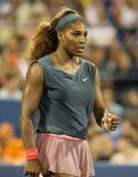 Zestien keer Grote Slagkampioen Serena Williams  Royalty-vrije Stock Foto