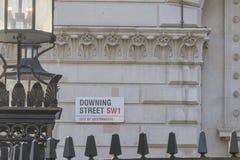 Zestrzelać ulica znaka Zdjęcia Royalty Free