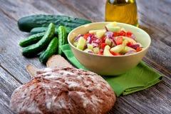 Zesty салат огурца Стоковая Фотография RF