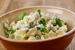 Free Zesty Chicken Salad Spread Royalty Free Stock Photography - 134983677
