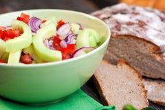 Zesty Cucumber Salad Stock Image