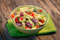Zesty Cucumber Salad Royalty Free Stock Images