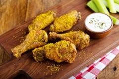 Free Zesty Lemon Chicken Wings Stock Images - 174698734