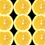 zesty lemon pokroić Zdjęcia Stock