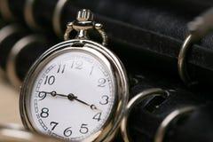 zeszyt kieszonkowy zegarek Obraz Stock