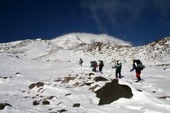 Zet AÄrı (Ararat) op Royalty-vrije Stock Foto's