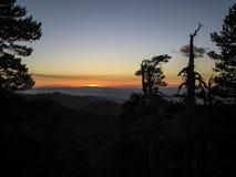 Zet Baden-Powell Califonia Sunset op Royalty-vrije Stock Foto