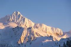 Zet Baker berg piektop op Het noorden drapeert Nationale de aardscène van de Parkwinter royalty-vrije stock afbeeldingen