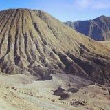 Zet Bromo Indonesië op Royalty-vrije Stock Afbeelding