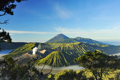 Zet Bromo, Java, Indonesië op Stock Fotografie