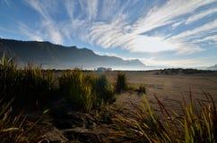 Zet Bromo-Landschap, Indonesië op Stock Fotografie