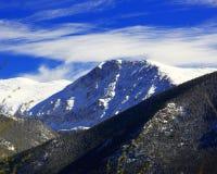 Zet Chiquita in Rocky Mountain National Park op Stock Fotografie