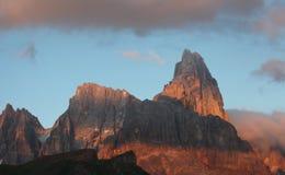 Zet Cimon-della Pala (Dolomiet) op Royalty-vrije Stock Afbeeldingen