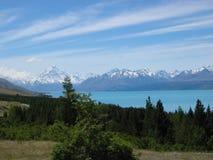 Zet Cook Nieuw Zeeland op Stock Fotografie
