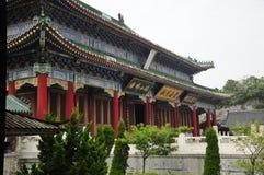 Zet de Boeddhistische de tempelbouw op van Tianmen royalty-vrije stock fotografie