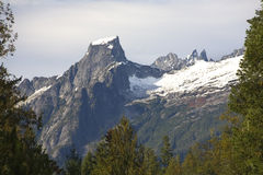 Zet de Cascades van het Noorden van de Triomf op Royalty-vrije Stock Foto
