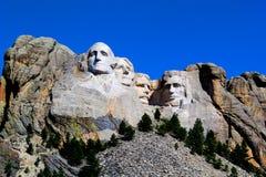 Zet de Nationale Herdenkingsrushmore Grote mening van Rushmore op stock foto's