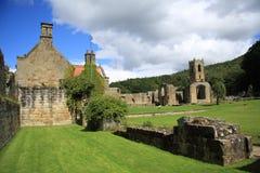 Zet de Priorij & de Manor van de Gunst op Royalty-vrije Stock Afbeelding