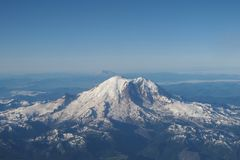 Zet de Regenachtigere, Staat van Washington op stock foto's