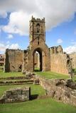 Zet de Ruïnes van de Priorij van de Gunst op Royalty-vrije Stock Afbeelding
