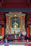 Zet de Zaal van Qingcheng Donghua, Sichuan, China op Stock Fotografie