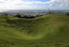 Zet Eden, Auckland op royalty-vrije stock afbeeldingen