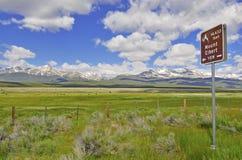 Zet Elbert, Sawatch-Waaier, Colorado op Stock Fotografie