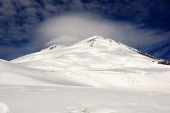 Zet Elbrus op Stock Afbeelding