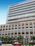 Zet Elizabeth Novena Hospital-de bouw op Stock Fotografie