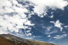 Zet Etna landschap op Royalty-vrije Stock Foto