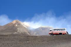 Zet Etna op stock foto