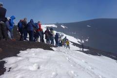 Zet Etna op royalty-vrije stock afbeeldingen