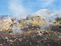 Zet Etna op Royalty-vrije Stock Foto's