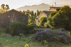 Zet Etna, Taormina, Sicilië, Italië op stock afbeelding