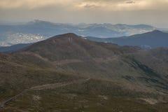 Zet Evans Road - Colorado op royalty-vrije stock afbeeldingen