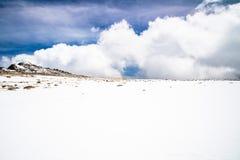 Zet Evans Summit - Colorado op Stock Foto's