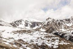 Zet Evans Summit - Colorado op stock afbeeldingen