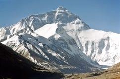 Zet Everest, hoogst in de wereld op, 8850m. Royalty-vrije Stock Fotografie