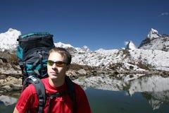 Zet Everest - Nepal op Stock Afbeelding