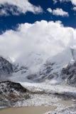 Zet Everest - Nepal op Stock Foto