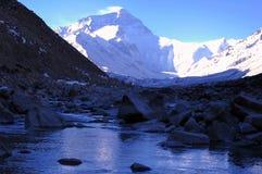 Zet Everest op royalty-vrije stock fotografie