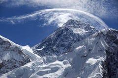 Zet Everest op. Royalty-vrije Stock Foto