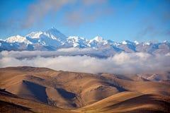 Zet Everest op Stock Fotografie