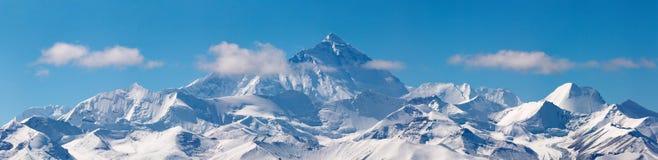 Zet Everest op stock afbeeldingen